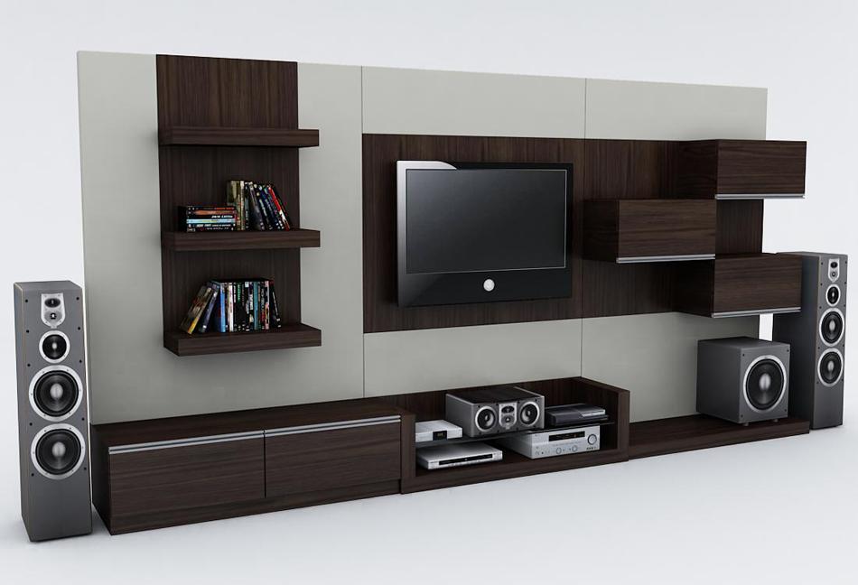 Dccor  Diseño Mobiliario Centro de Entretenimiento minimalista