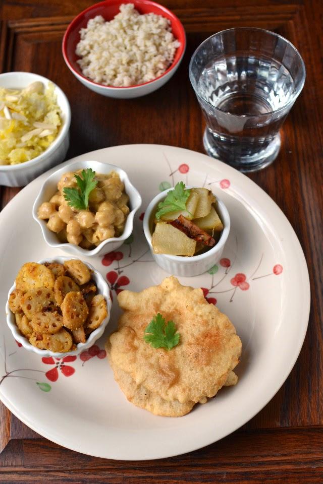 Vegetarian Himachal Pradesh Thali