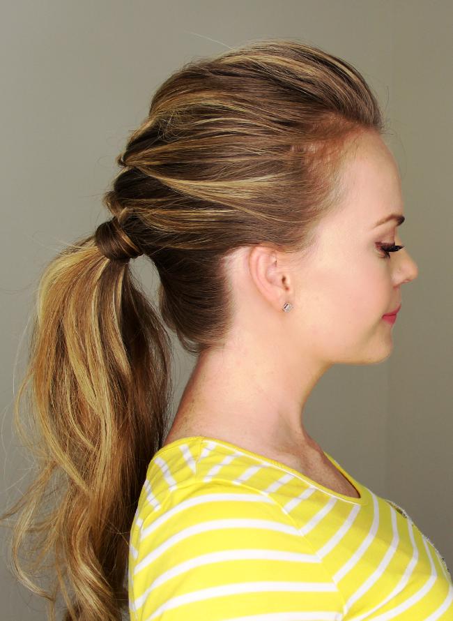 Moda Cabellos: Peinados de moda 2015 - Cola de caballo