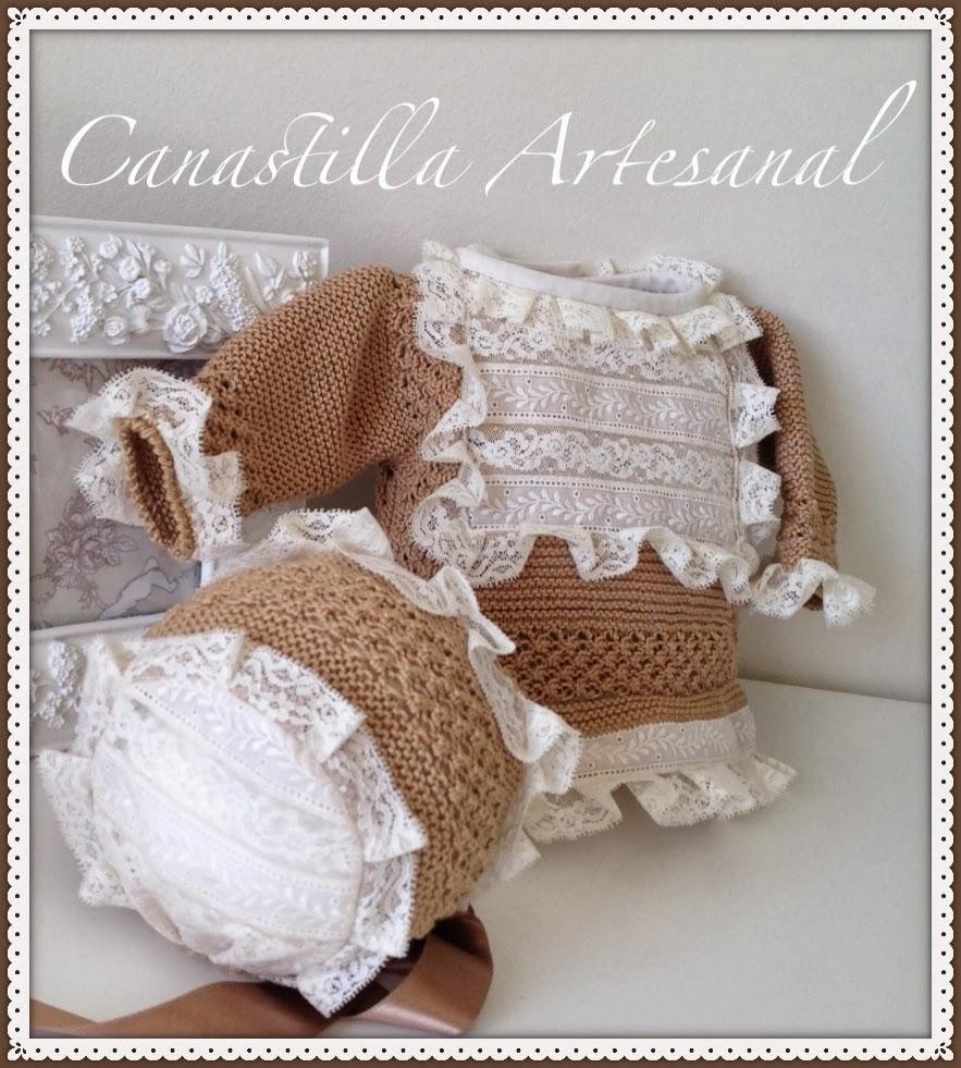 Canastilla artesanal modelo 51 - Canastilla artesanal bebe ...