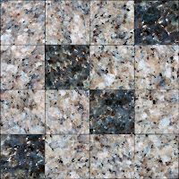 Seamless marble floor tiles texture