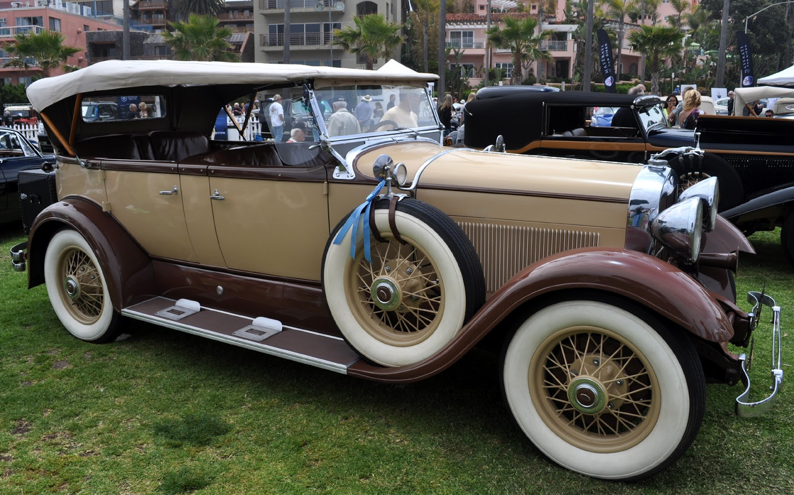 Just A Car Guy 1930 Lincoln Sport Phaeton with the most