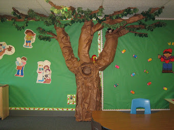 Our Classroom Tree in all Seasons