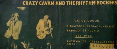 entrada de concierto de crazy cavan