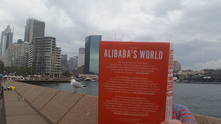 Reading the book Alibaba's world from Porter Erisman