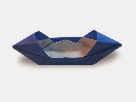 Cách gấp, xếp thuyền mui bằng giấy origami - Video hướng dẫn xếp hình - How to make a motor boat
