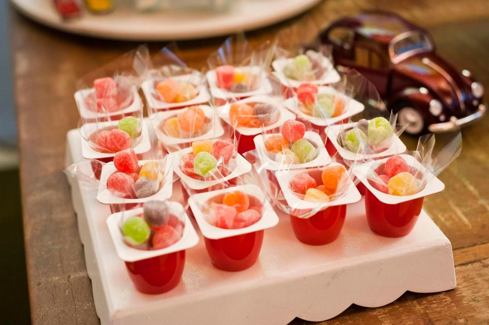 Uma linda promessa ideias de doces criativos para sua festa - Capazos baratos para decorar ...