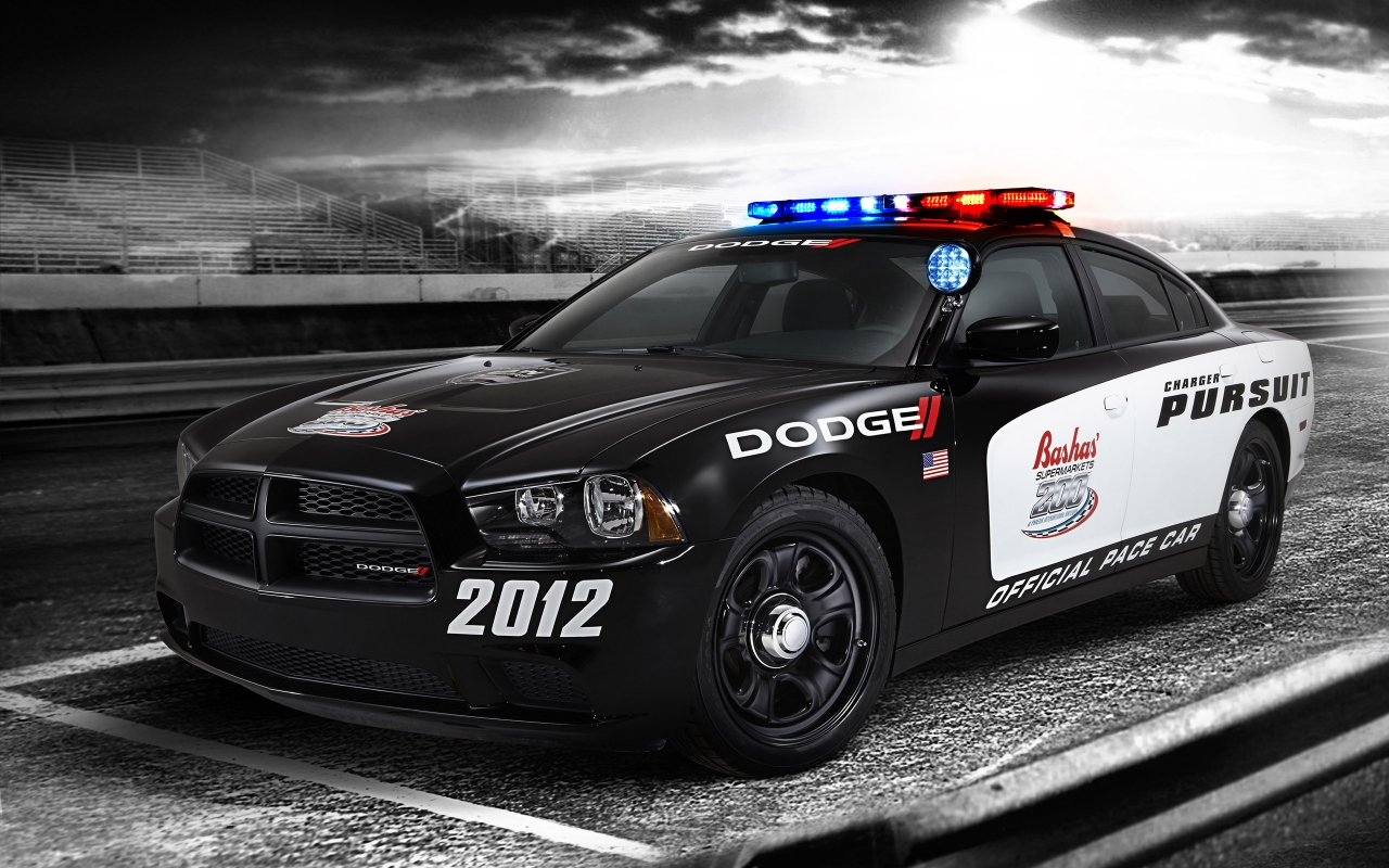 Полицейски Dodge Charger, HD Wallpaper