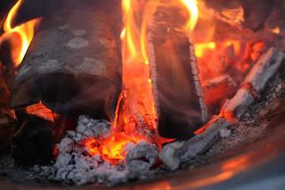 Midsommarfirande, eld, glöd och värme