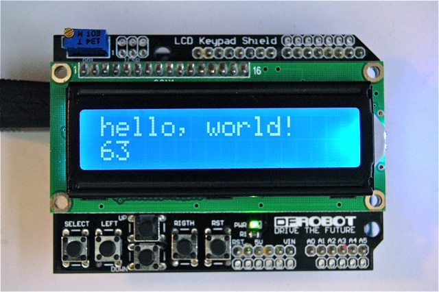 Question about scrolling on display arduino