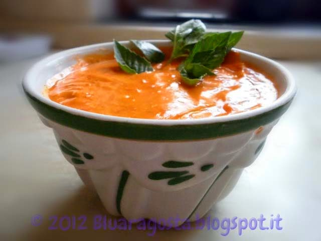 maionese di pomodoro e condimento di succo di pomodoro