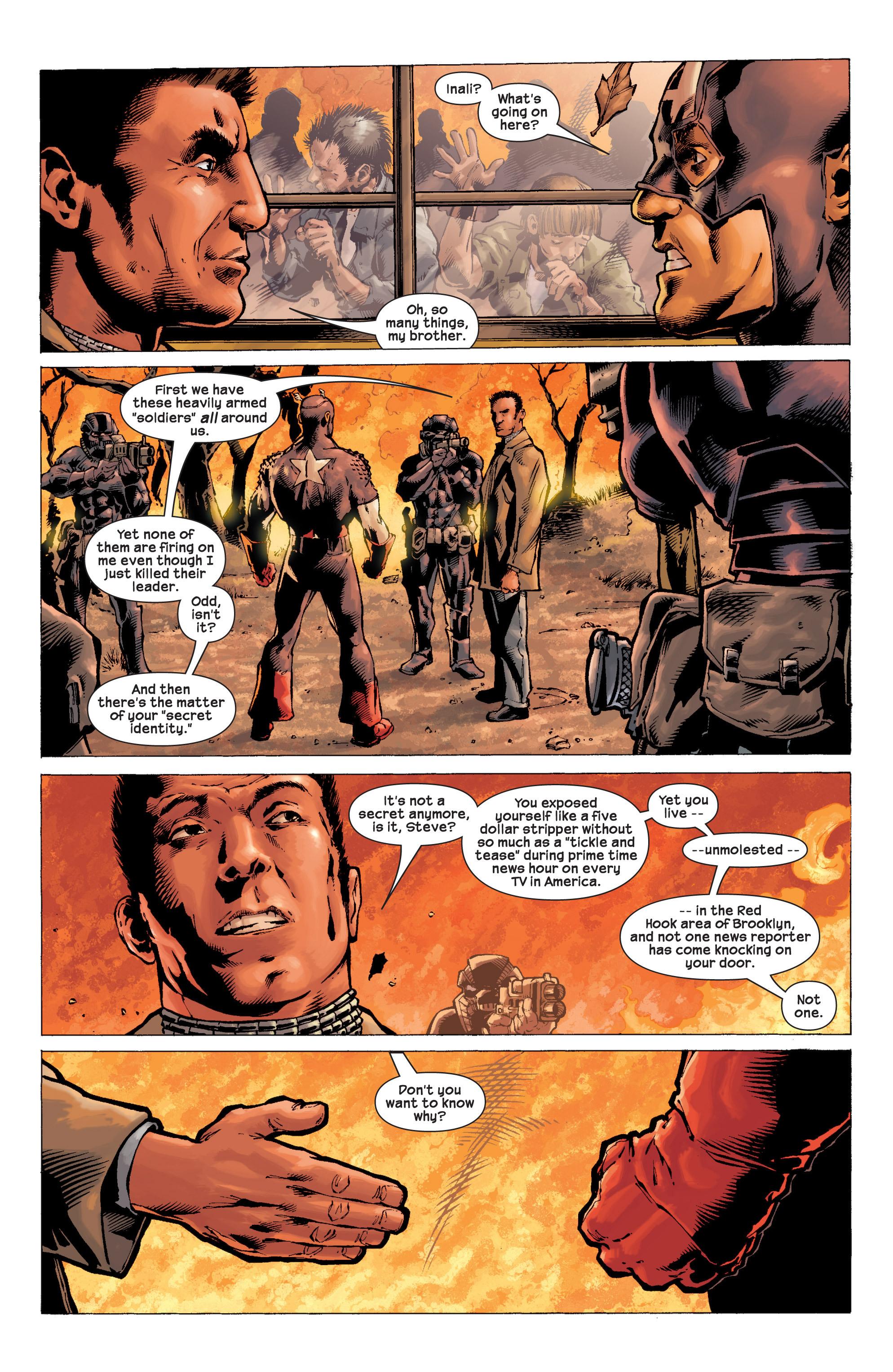Captain America (2002) Issue #9 #10 - English 3