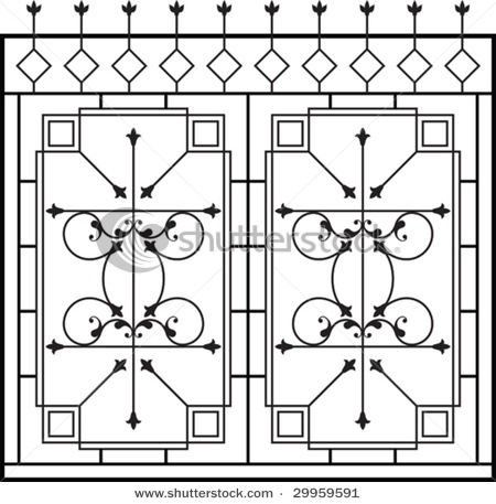Fence Window Grill Design