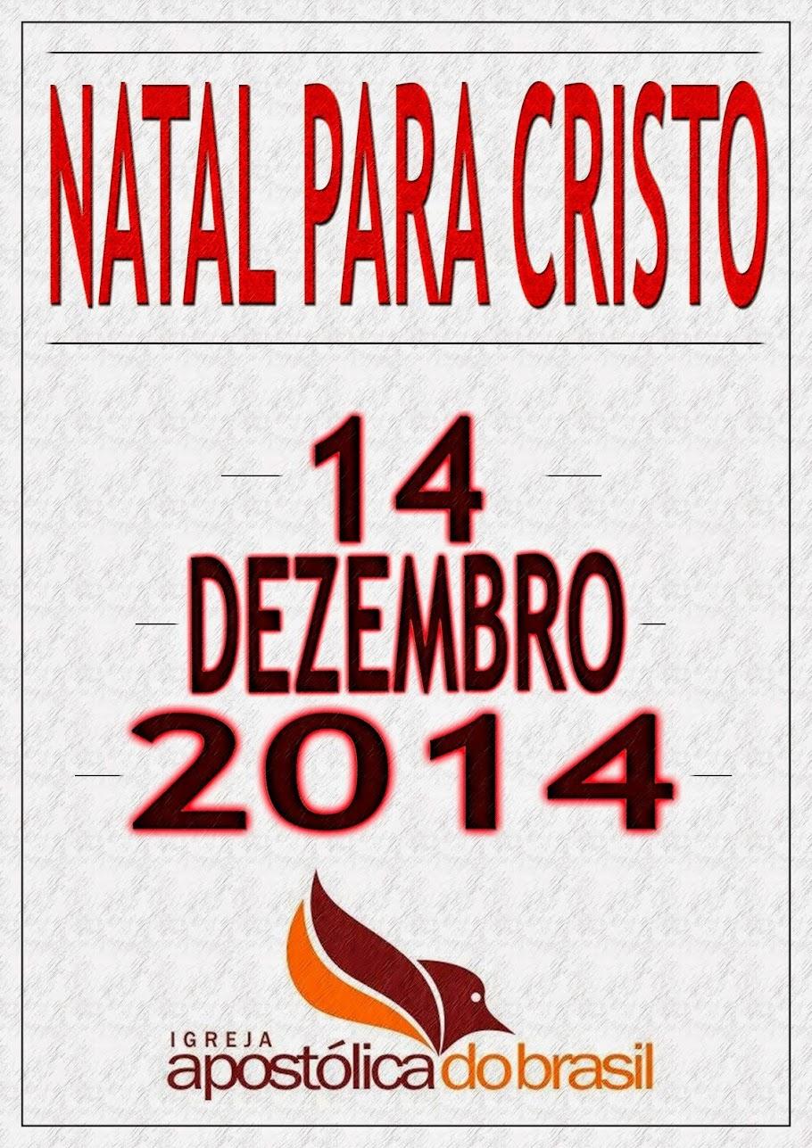 Natal para Cristo 2014