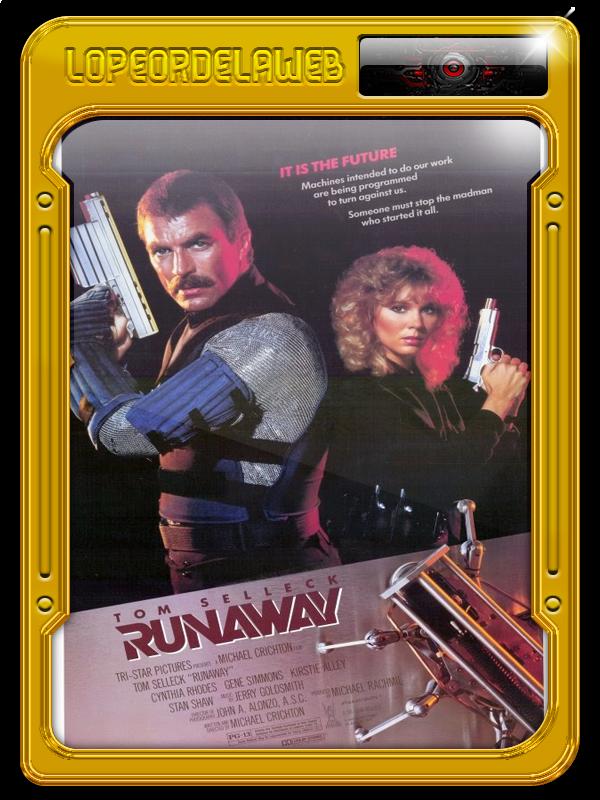 Runaway, Brigada Especial (1984) 720p, Dual, Mega, Uptobox