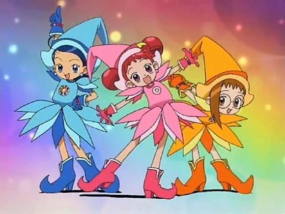 Estic mirant altre cop Doremi des del primer episodi Ojamajo_Doremi_Group_transformation_pose