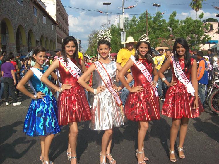 Las 5 bellas de los Carnavales 2011