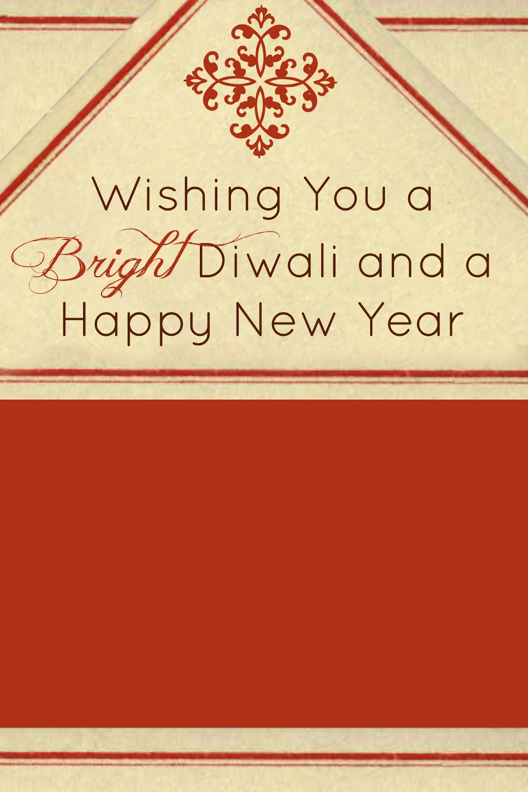 Make it handmade free printable diy diwali cards free diwali photo card or e card template for download by make it handmade m4hsunfo