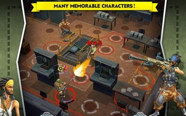 AntiSquad Tactics game for Android free download