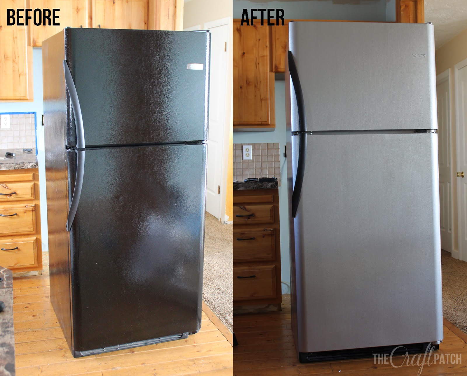 ... Patch: I Painted My Appliances!!! (Liquid Stainless Steel Review