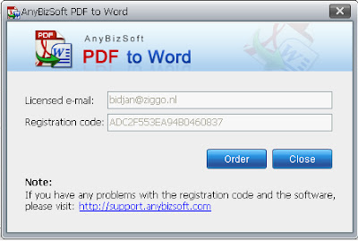 AnyBizSoft  PDF to Word Converter 3.0.0 Full Serial 3