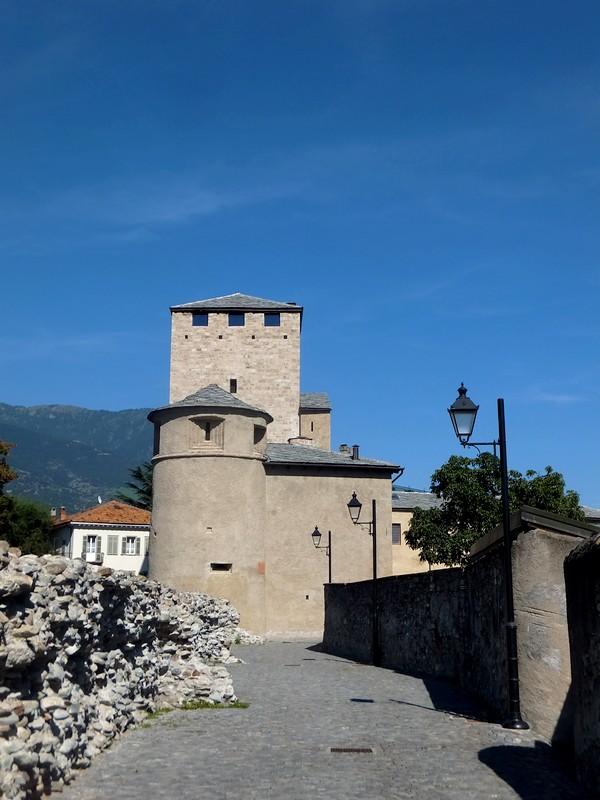 Aoste Aosta Italie tour bailly