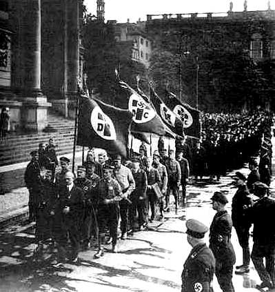 the role of the church and the nazis in the splitting of germany Germany is not an ally, it is still an evil nation that wants to control all of europe, the german military is already working on creating an elite army of muslims.