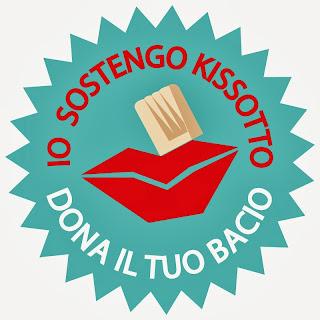 una foodblogger al bacio e un'iniziativa benefica: kissotto - un bacio lungo un mese