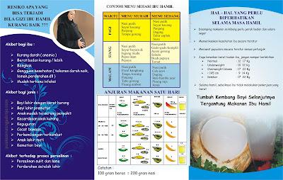 contoh desain brosur kesehatan