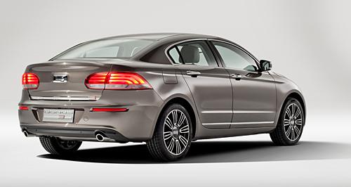 El Qoros 3 Sedan llegará a Europa en 2013