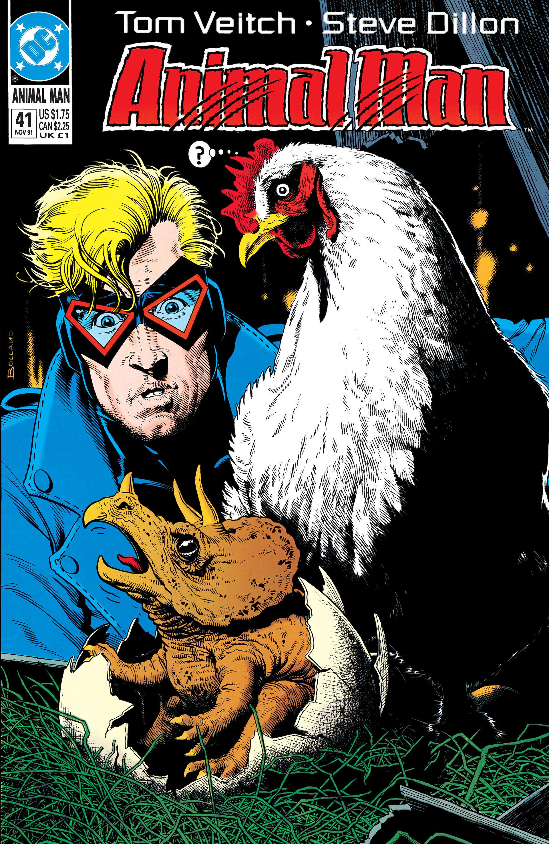 Animal Man (1988) 41 Page 1