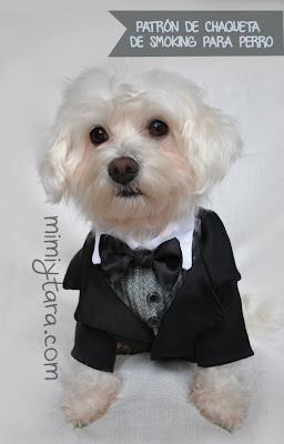 chaqueta esmoking para perro