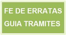 Fe de Erratas Guía de Trámites.