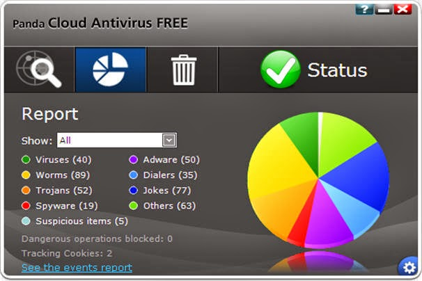 Panda Cloud Antivirus 2.9.0