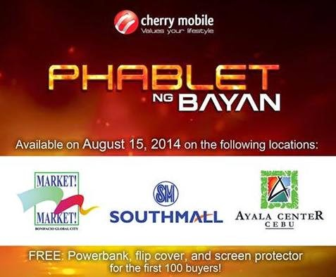Cherry Mobile Flare 3 Available with Freebies This August 15 in Taguig, Las Pinas and Cebu