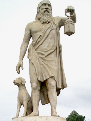 Diogene cerca l'Uomo