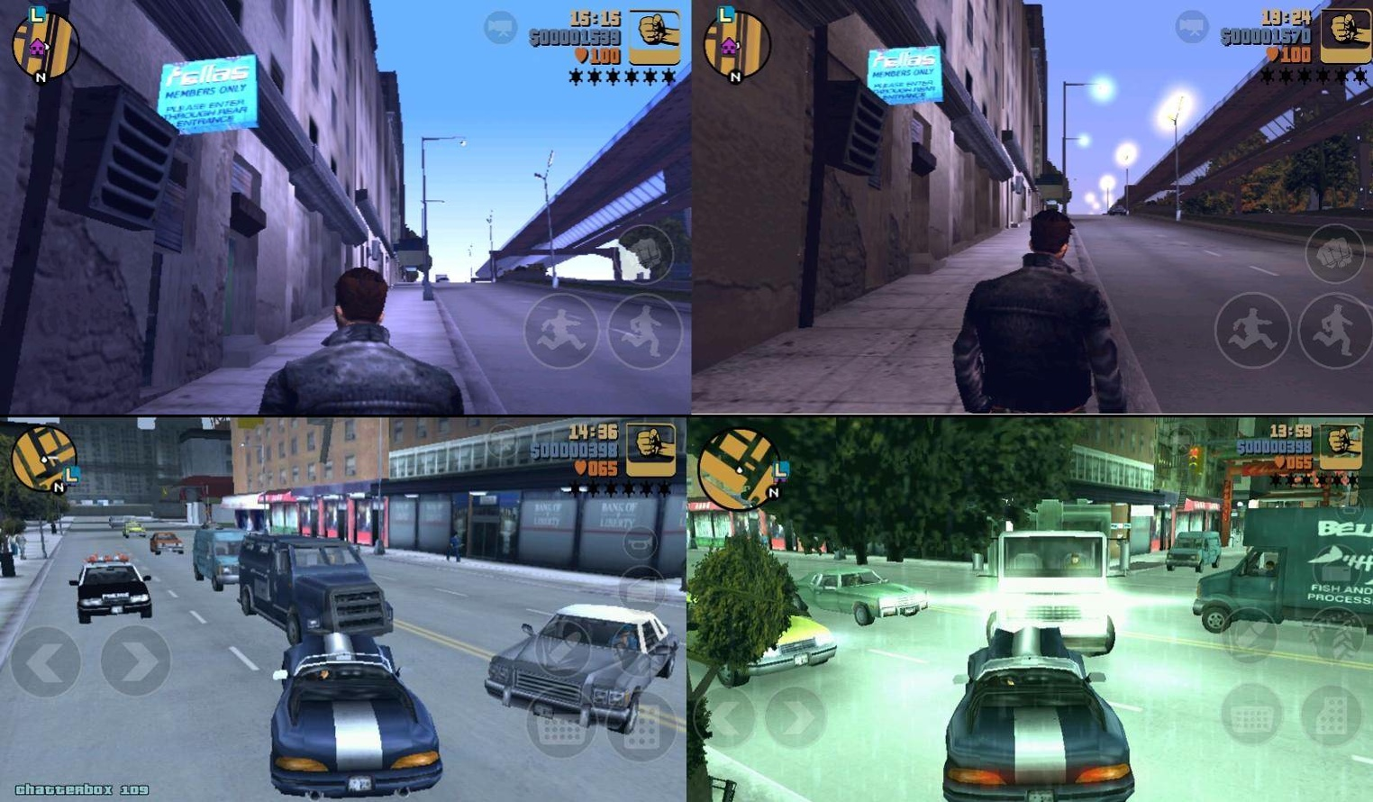 GTA 3 -Grand Theft Auto III Android APK+SD DATA Hvga,Wgva,Qvga İndir