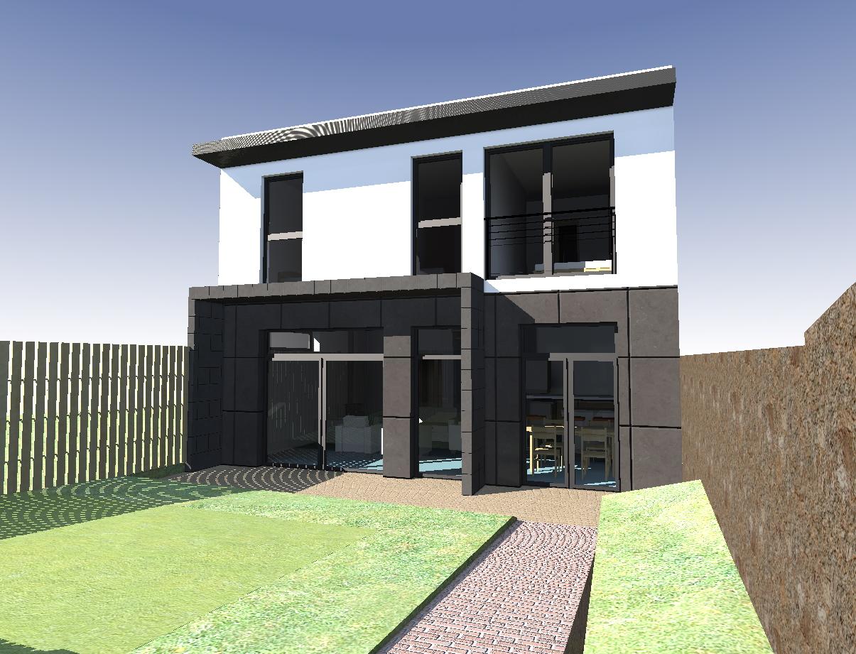 Maison bbc bois meudon architecte maison bois paris for Architecte maison bois