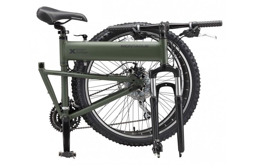 MONTBIKE, Paratrooper adalah Sepeda lipat MTB dengan