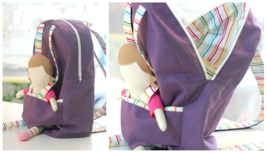 how to make a mexican backpack