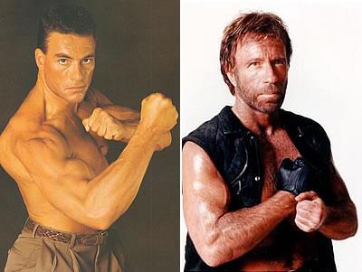 Chuck Norris e Van Damme