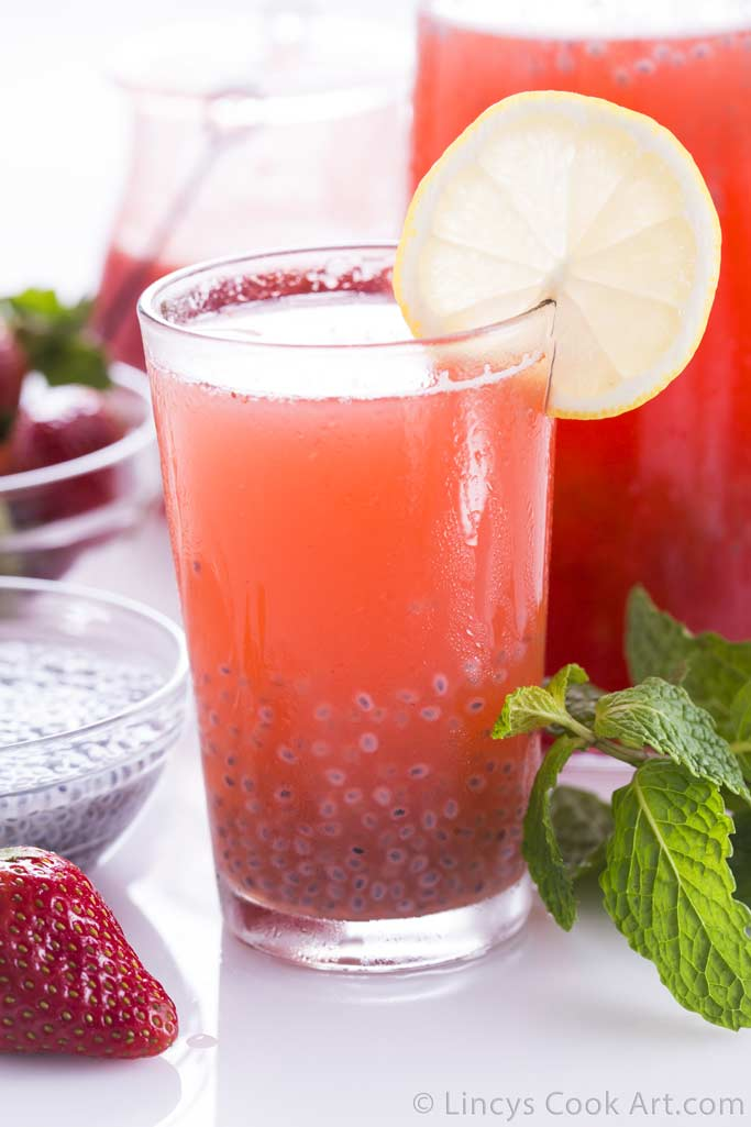 Strawberry Sarbath recipe