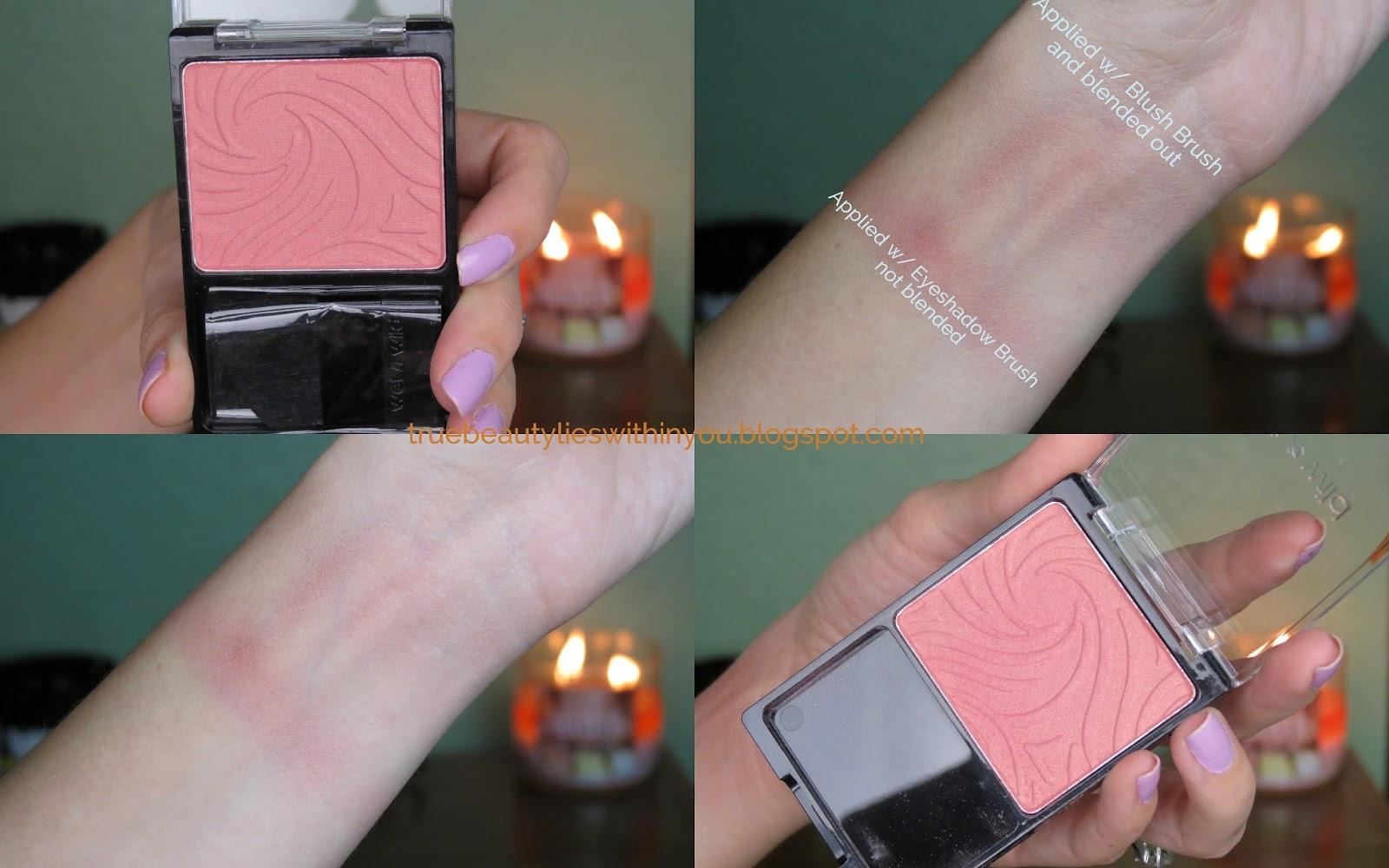 Wet n wild product swatches eyeshadows blushes lipsticks