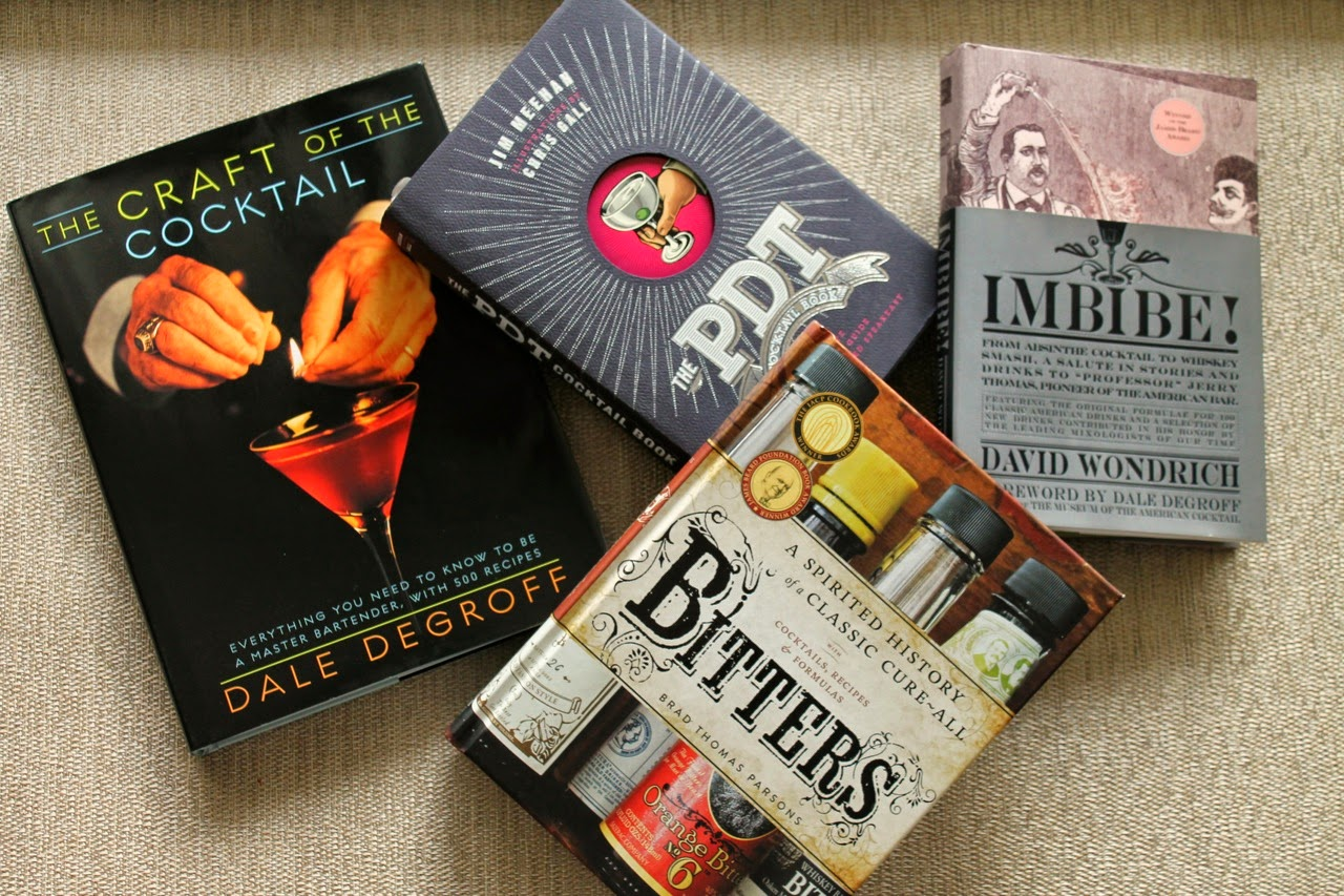Cocktail books bitters