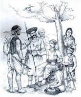 Shivaji with his Mavle