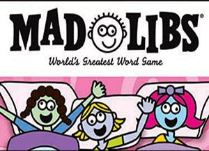 You can play Mad Libs in bed
