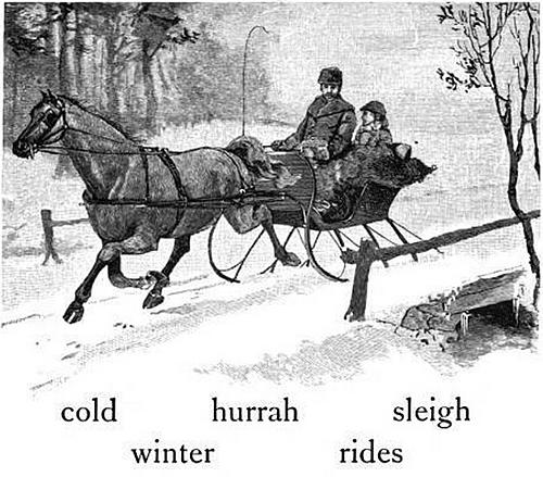 cold hurrah sleigh winter rides