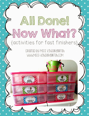 http://www.teacherspayteachers.com/Product/All-Done-Now-What-activities-for-fast-finishers-858156