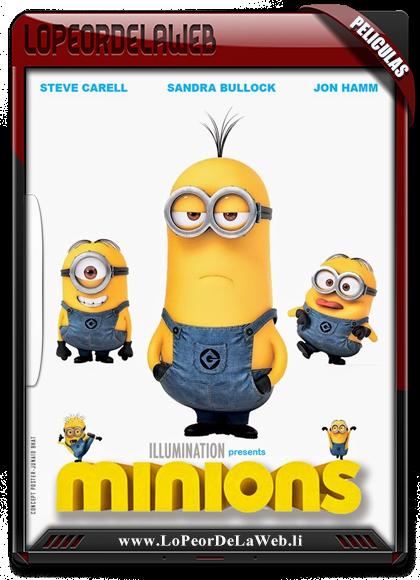 Los Minions BRrip 720p Latino 2015 [Mega]