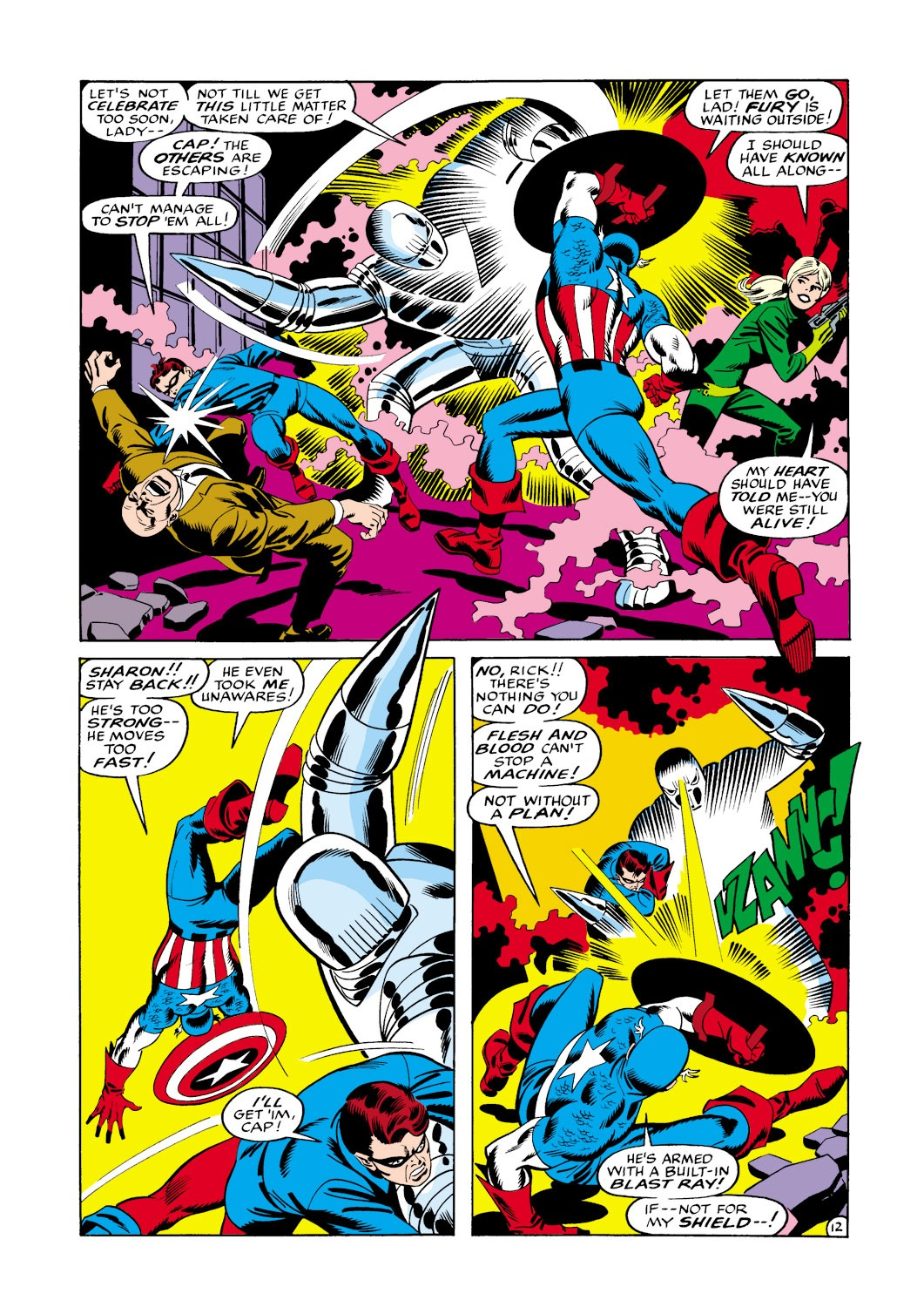 Captain America (1968) Issue #114 #28 - English 13